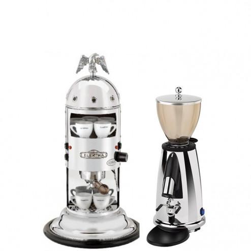 Elektra Mini Verticale A1C & Elektra Kaffemühle MSDC