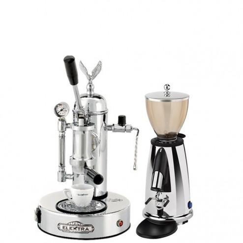 Elektra Micro Casa S1C & Elektra Kaffemühle MSDC & Base
