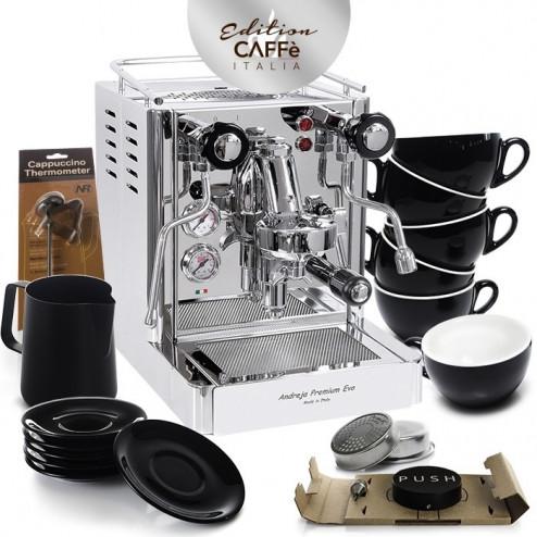 Quick Mill Andreja 0980 & Caffè Italia Kit Edition 3