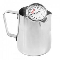 Caffè Italia Milchkännchen + Milchthermometer