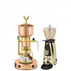 Elektra Micro Casa SX & Elektra Kaffemühle MSDO