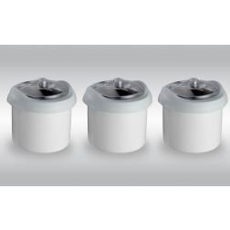 Nemox Kit 3 Behälter und 3 Deckel - FANTASIA BUFFET