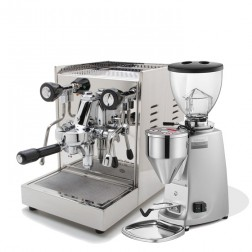 Quick Mill Anita & Rancilio Rocky SD