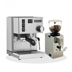 Rancilio Silvia V6 E 2020 Latest Edition + Isomac Profi Kaffeemühle